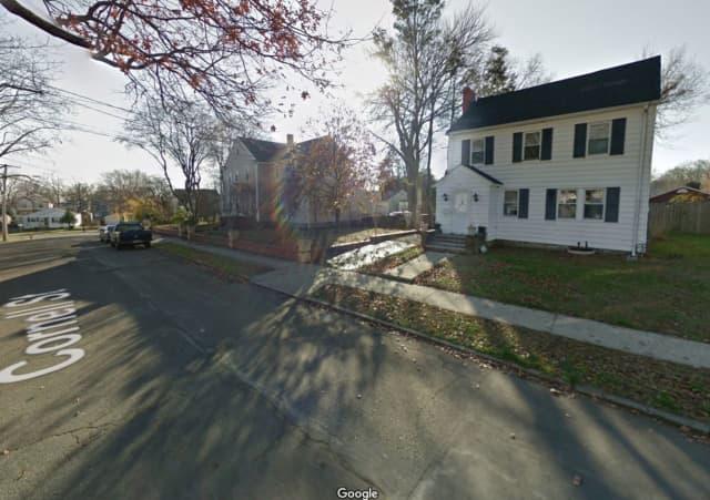 A World War II-era hand grenade was found in the backyard of a Bridgeport home.