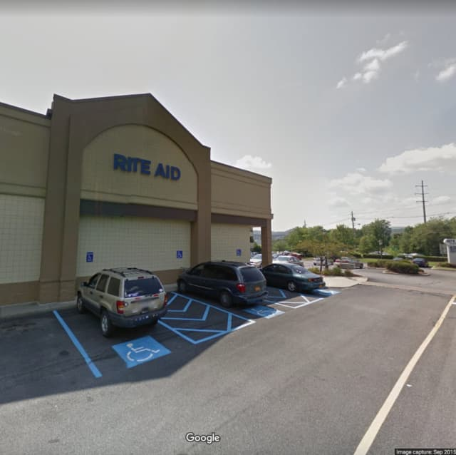 A man was busted for using a stolen credit card at a Rite Aid.