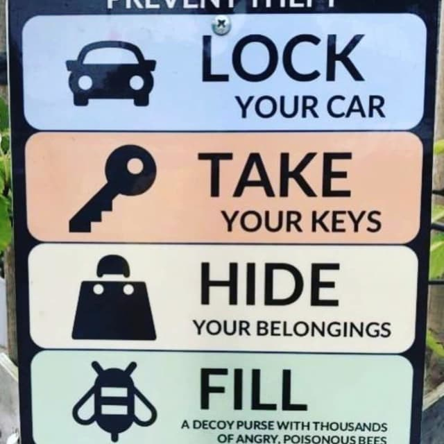 The New Canaan Police Department has provided residents with common sense advice to avoid getting their car stolen.
