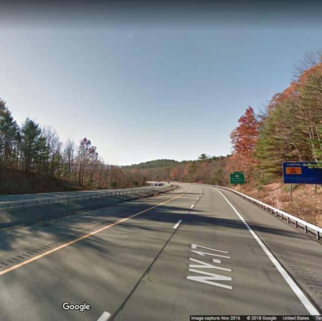 Route 17 near Exit 113 in Wurtsboro.