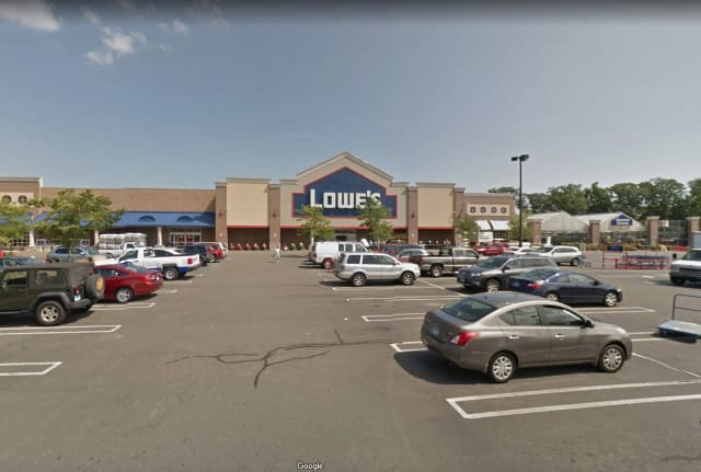 A Bridgeport man was busted for allegedly stealing cash from a register at the Lowe's on  311 Old Gate Lane.