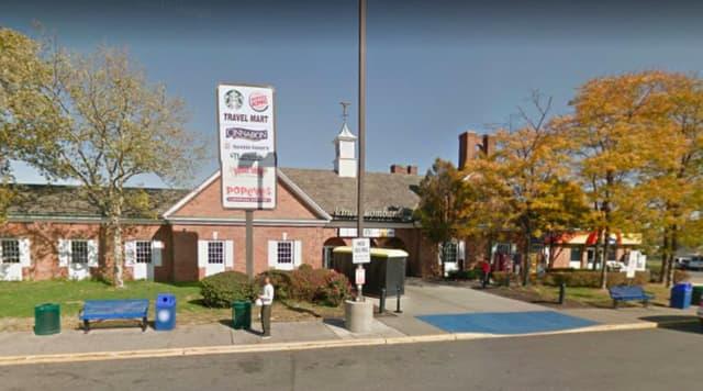 Vince Lombardi Service Area, Ridgefield.