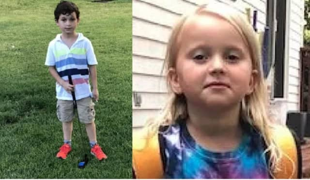 Arlo Cohen, 7, and his 5-year-old sister Jessica Cohen of New Canaan were last seen on Monday, according to police.