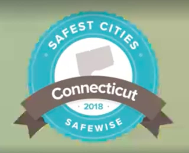 Safewise released its 2018 list of safest cities in Connecticut.