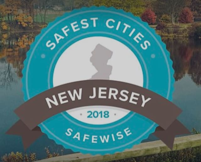 Safewise released its 2018 list of safest cities in New Jersey.