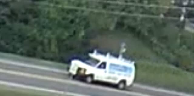Police have located the man driving the white commercial van who approached a Spacenkill student.