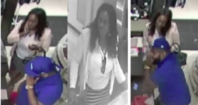 Know her? Police are looking for the woman pictured in connection with an ID theft.
