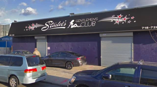 The Edgewater man says he was robbed outside of Starlets Gentlemen's Club in Queens.
