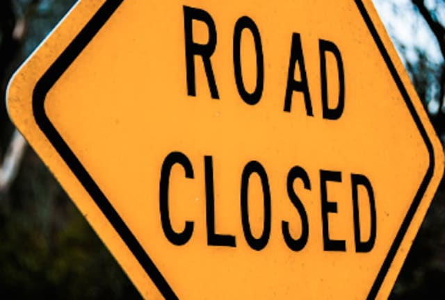 A busy stretch of Route 22 was closed due to a downed tree.
