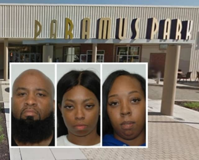 Michael Grantham, Kachae Jackson and Danielle Taylor lead Paramus police on a brief chase that resulted in their arrest. Police believe the trio is connected to fraud, theft and pick-pocketing crimes across the Tri-State area.