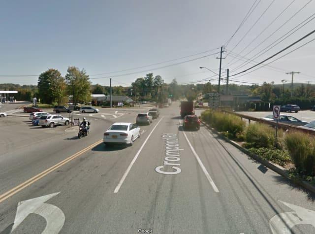 Crompond Road in Yorktown.