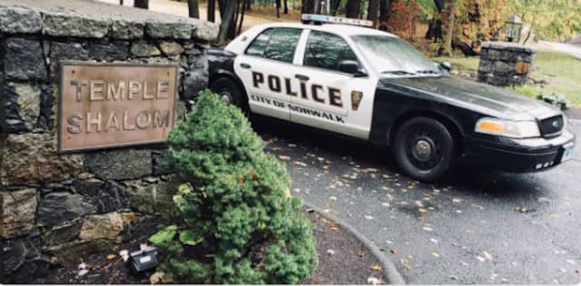 Police in Norwalk have increased patrols and security at synagogues of Norwalk's Houses of Worship.
