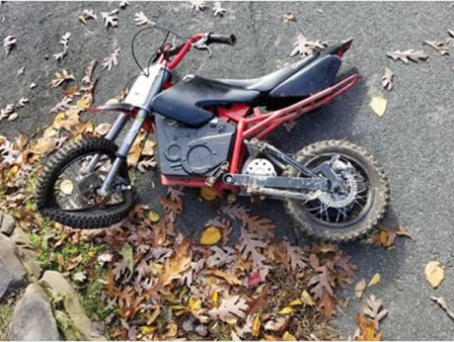 A 6-year-old boy riding an electric scooter was hospitalized after being struck by a car in Rockland County on Saturday.