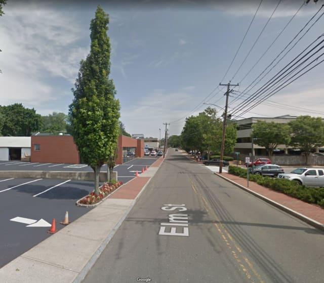 Elm Street in New Canaan.