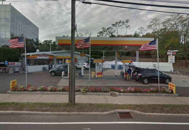 Shell Station at 401 West Putnam Ave. in Greenwich.