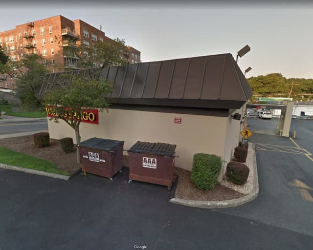 A body was found near a dumpster outside Wells Fargo on Odell Avenue in Yonkers.