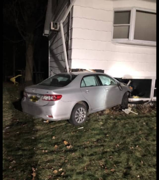 The crash occurred on Eastbourne Drive in the Village of Chestnut Ridge.