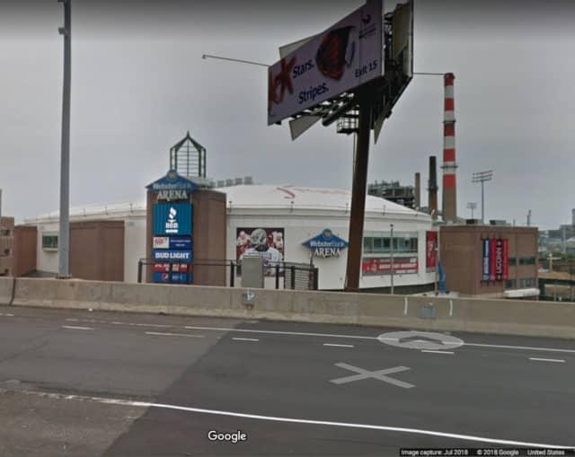Webster Bank Arena in Bridgeport.