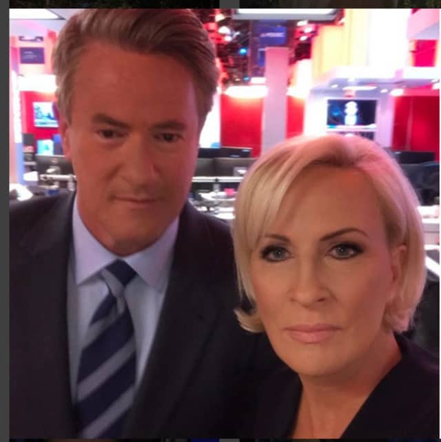 New Canaan's Joe Scarborough and Bronxville's Mika Brzezinski