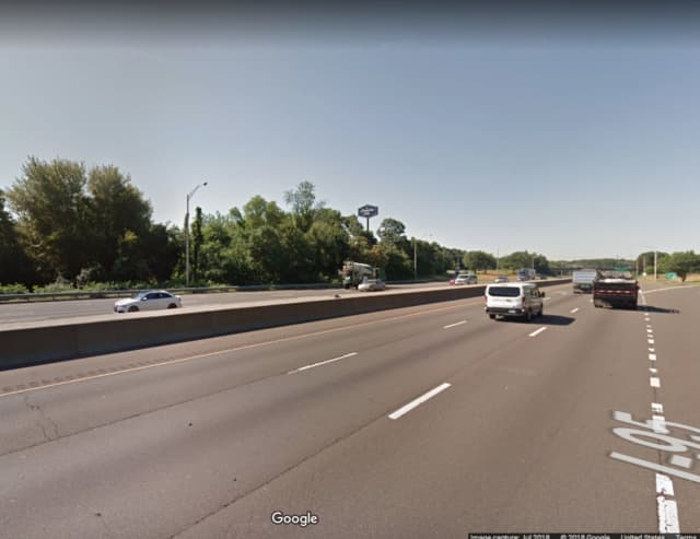 I-95 near Exit 36 in Milford.
