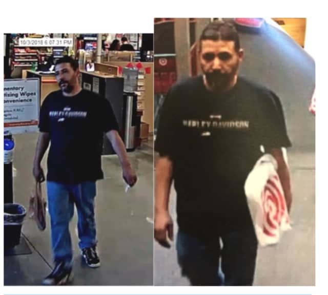 The above man was involved in a credit card fraud ring in the area, Stratford Police say.