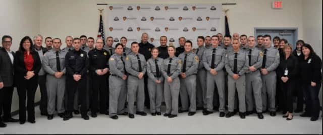 The 28 graduates of Dutchess County's 'Crisis Intervention Team' Training
