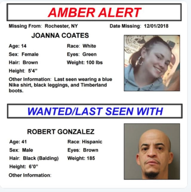 A look at the Amber Alert photos and details.