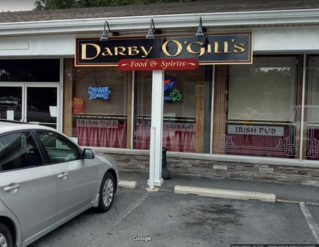 The State Liquor Authority has suspended the license at Darby O'Gill's for underage drinking.