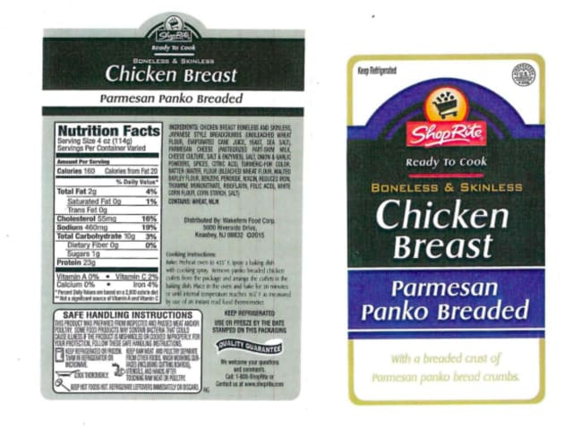 ShopRite chicken products have been recalled