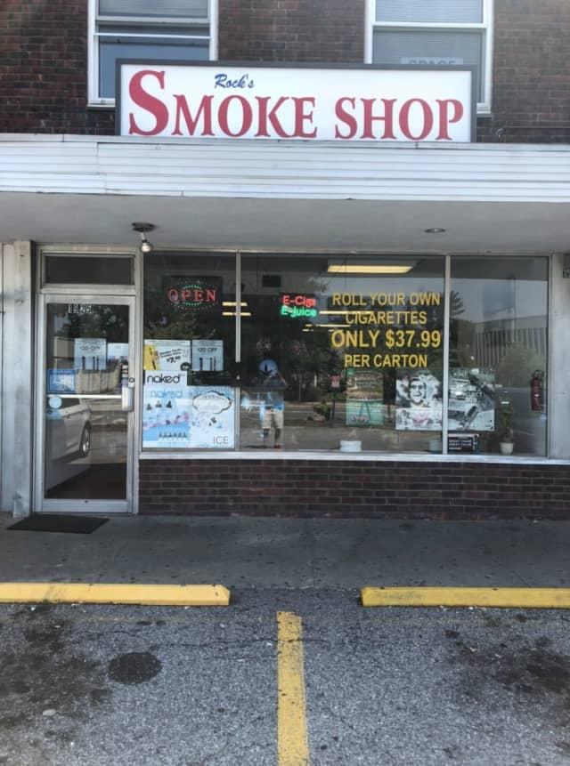 Rocks Smoke Shop in Yorktown.