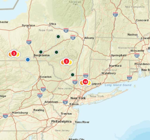 Storm Knocks Out Power In Dutchess County Southwest Dutchess Daily