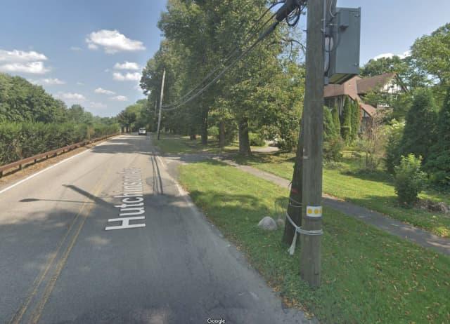 Hutchinson Avenue in Scarsdale.