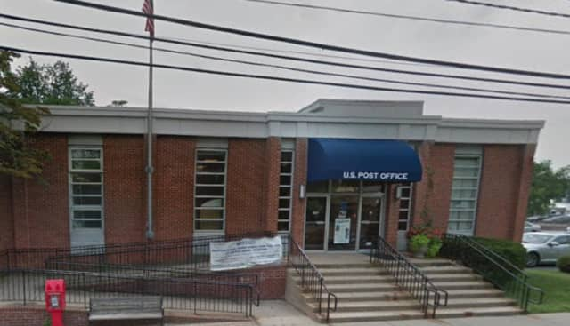 Darien Post Office, located at 30 Corbin Drive