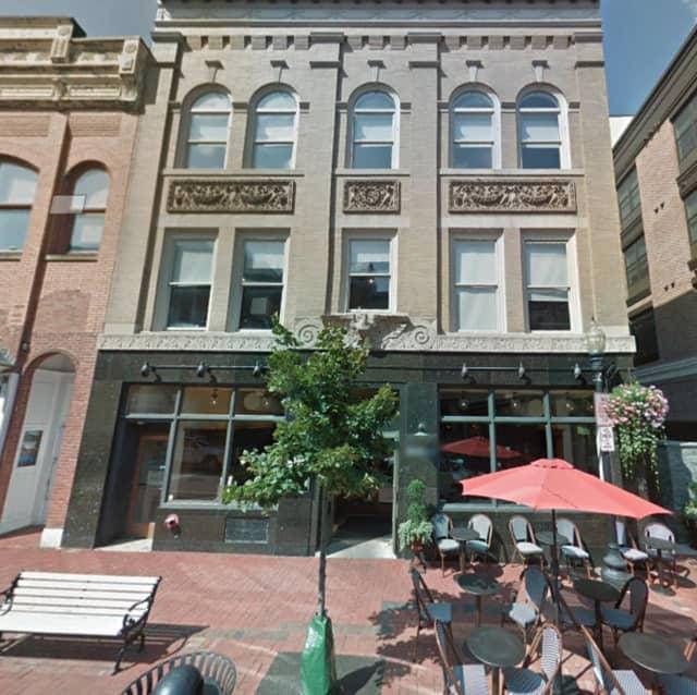 Match restaurant, located at 98 Washington Street in Norwalk
