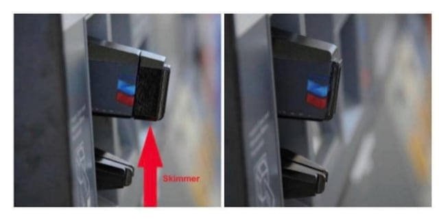 Motorists are being warned that skimming devices have been found at gas stations in the area.