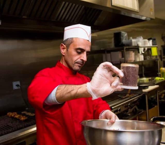 "Falafull chef ""Spice Bae"" works his magic in Fair Lawn."