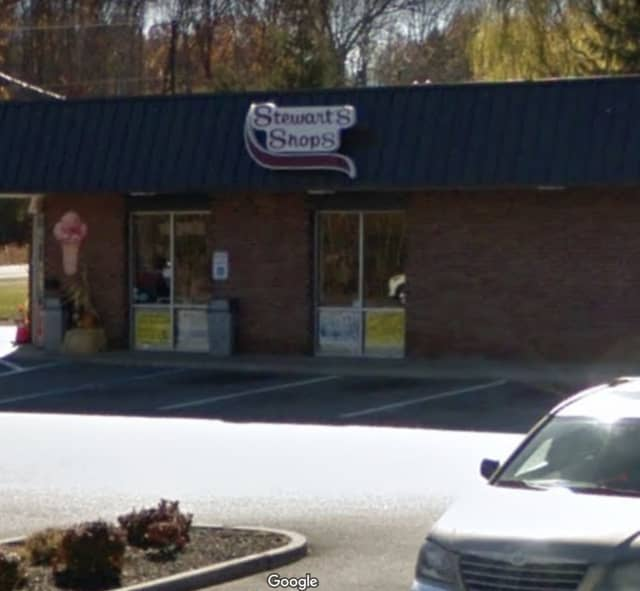 A man has been arrested for the alleged armed robbery of a Stewart's Shop.