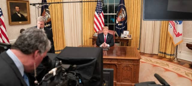 Amid the shutdown, President Donald Trump gave a nationally televised speech on Jan. 8 from the Oval Office.