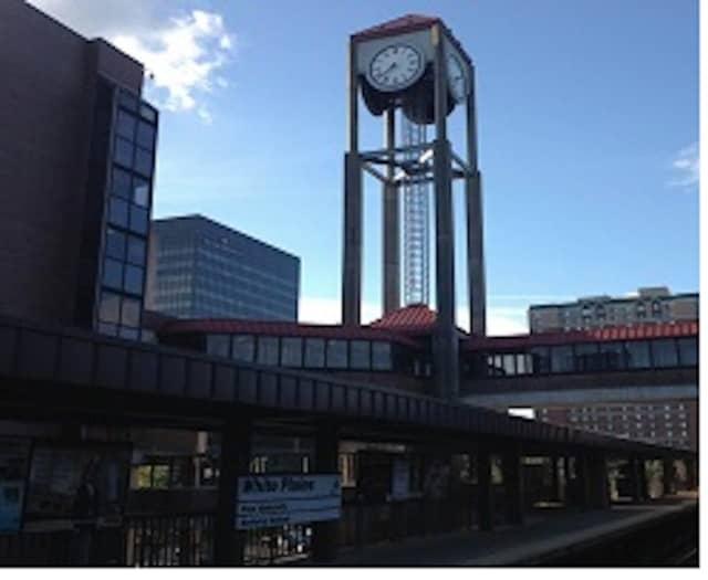 The Metro-North White Plains station.