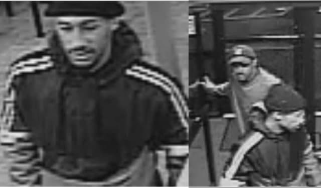 Know them? Police are asking for help identifying the two men pictured.