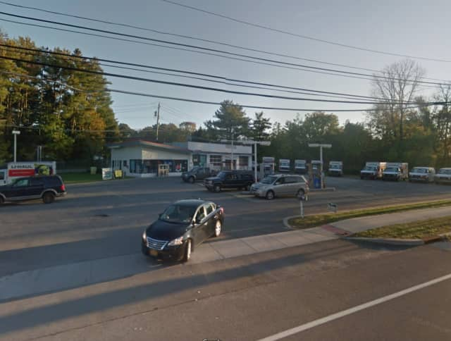 Gulf gas station on Crompond Road in Yorktown.