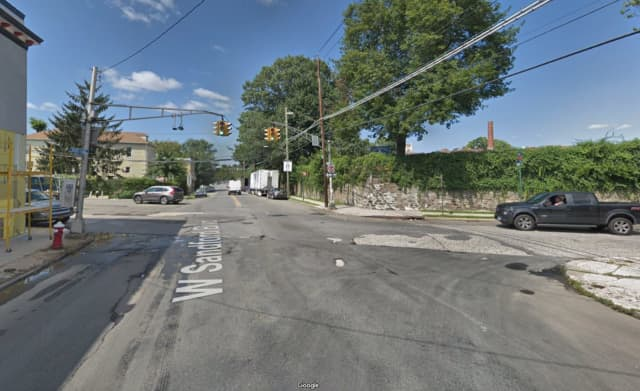 A Mount Vernon police officer was dragged for approximately a block near the Mount Vernon-Bronx border.