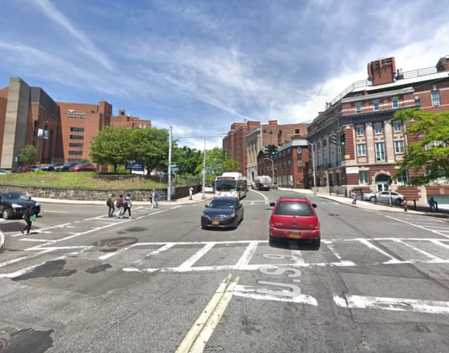 South Broadway near the intersection of Vark Street in Yonkers.