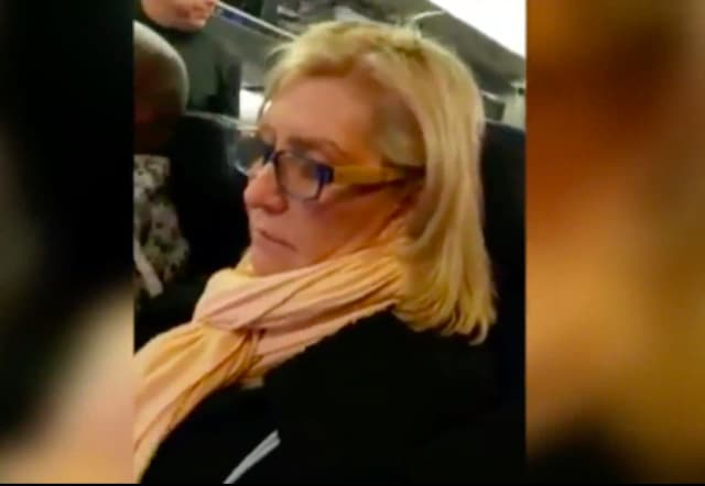 A fat-shaming passenger was removed from a Newark-bound United Airlines flight New Year's Day.