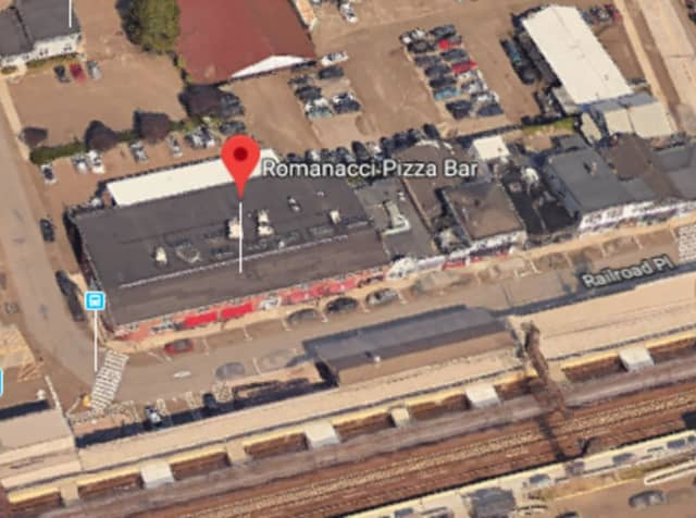 Romanacci Pizza Bar in Westport, located at 54 Railroad Place