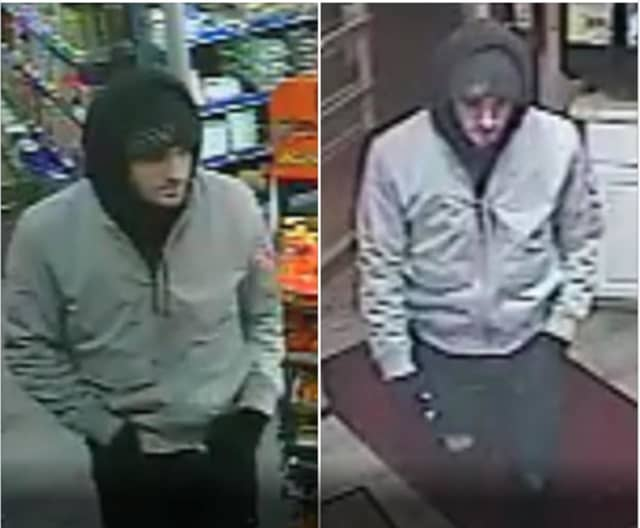 A look at images of the suspect.