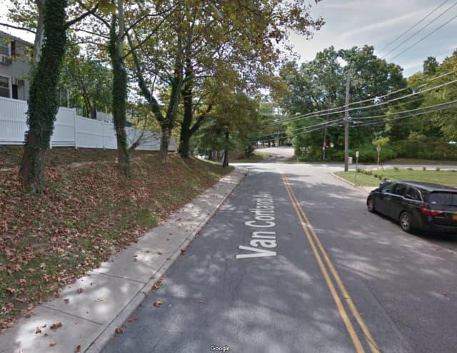 Van Cortlandt Avenue in Ossining.