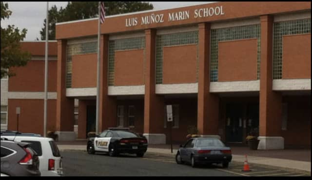 A man was found shot to death outside the Luis Munoz Marin School.