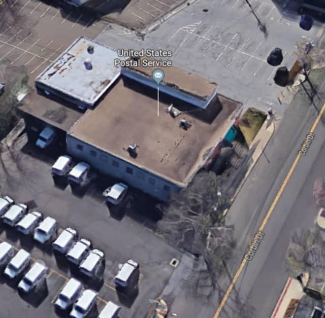 U.S. Post Office, located at 30 Corbin Drive in Darien