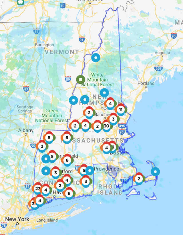 Number Of Power Outages In Fairfield County Surges In Afternoon